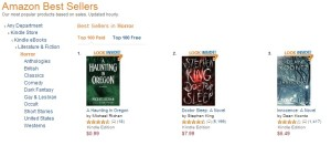 Number 1 Paid Horror Novel on Amazon - A Haunting in Oregon