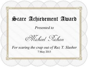 Raz-T-Slasher-certificate